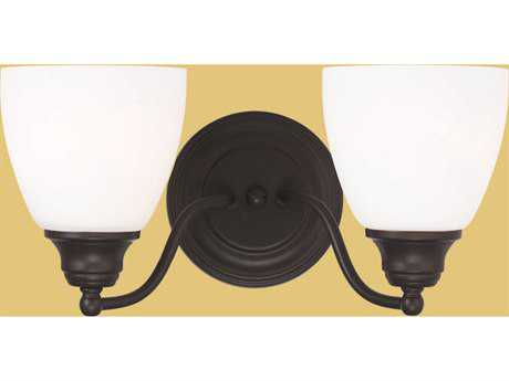 Livex Lighting Somerville Bronze Two-Light Bath Light