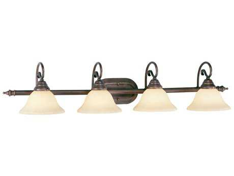 Livex Lighting Coronado Imperial Bronze Four-Light Vanity Light
