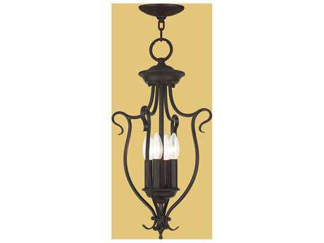 Livex Lighting Coronado Bronze Four-Light 11'' Wide Pendant Light