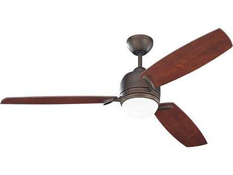 Monte Carlo Fans Muirfield Roman Bronze 52'' Wide Indoor Ceiling Fan with Light