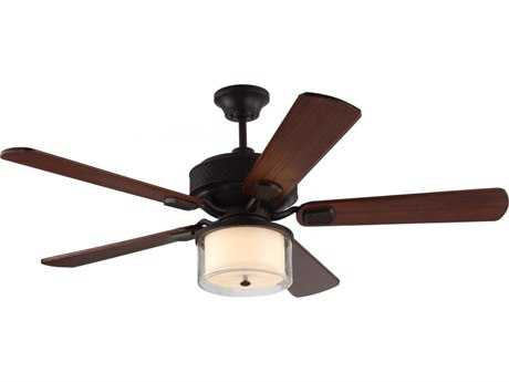 Monte Carlo Fans Hillsborough Espresso 54'' Wide Indoor Ceiling Fan