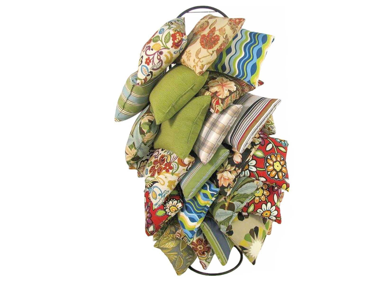 Meadowcraft Throw Pillow Display Rack KD 1369900-01