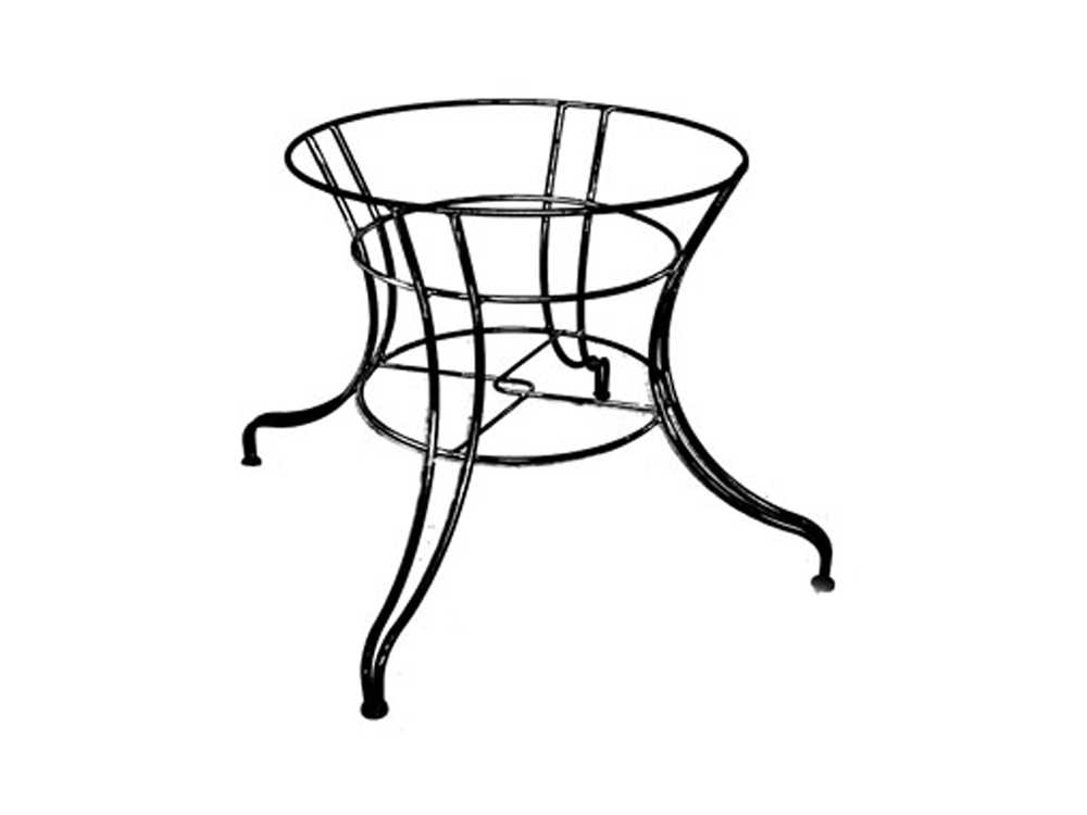Wrought Iron 900 Series Dining Table Base Md190051001 Table Bases