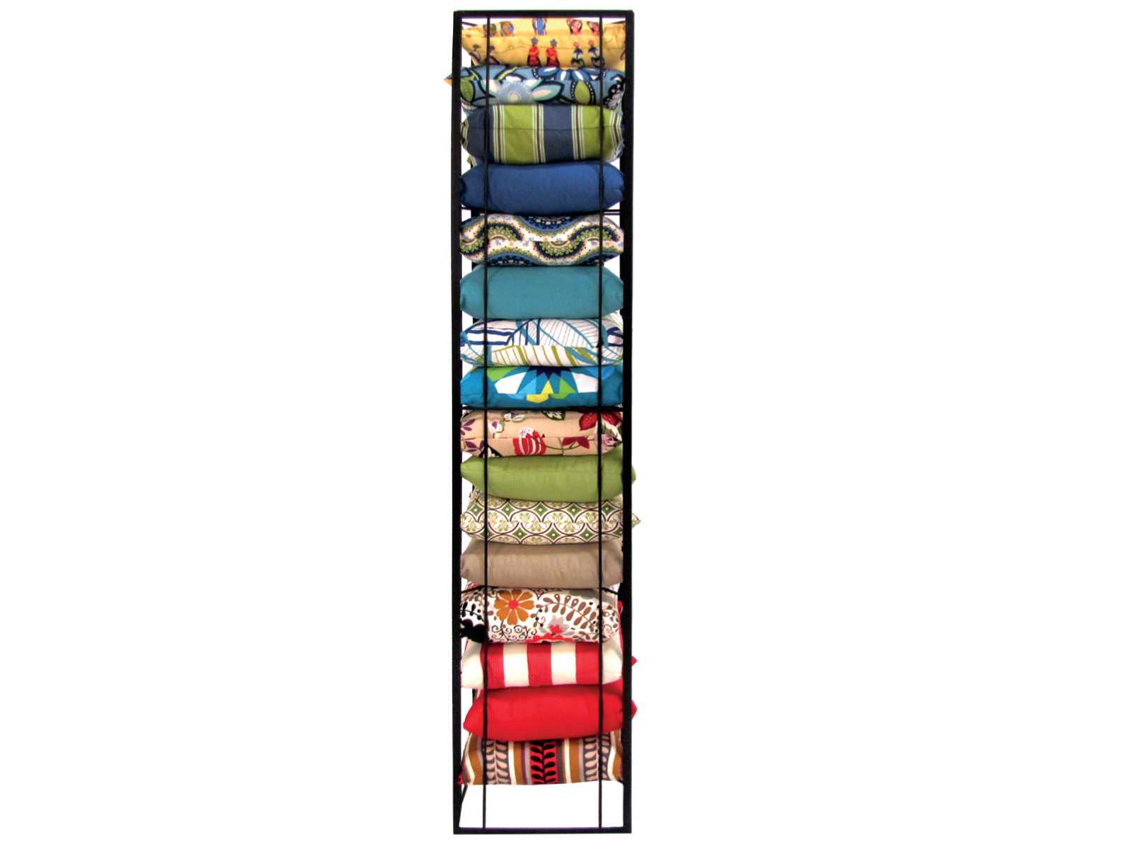 Meadowcraft Throw Pillow Display Rack 2369900 01