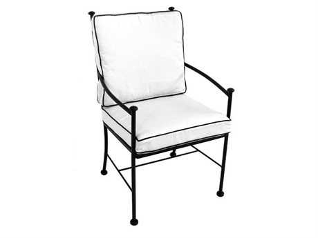 Meadowcraft Grayson Wrought Iron Dining Chair