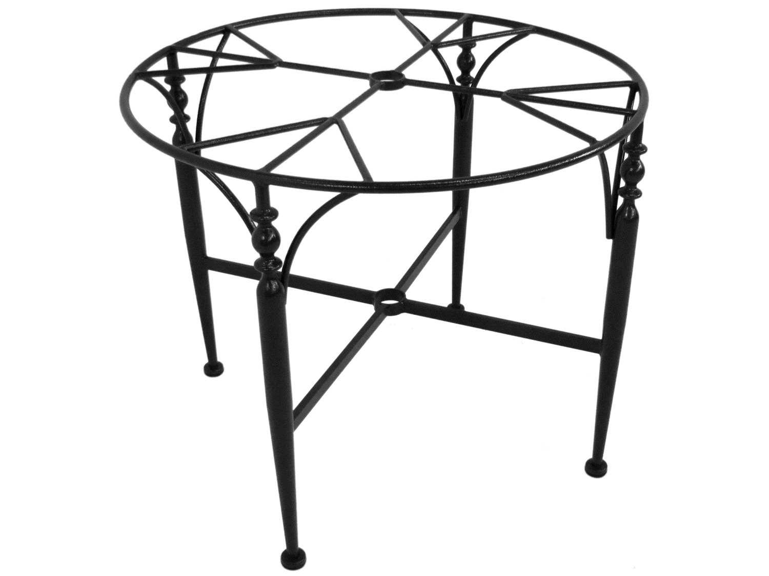 Meadowcraft Athens Wrought Iron Dining Room Table Base 3624837 01