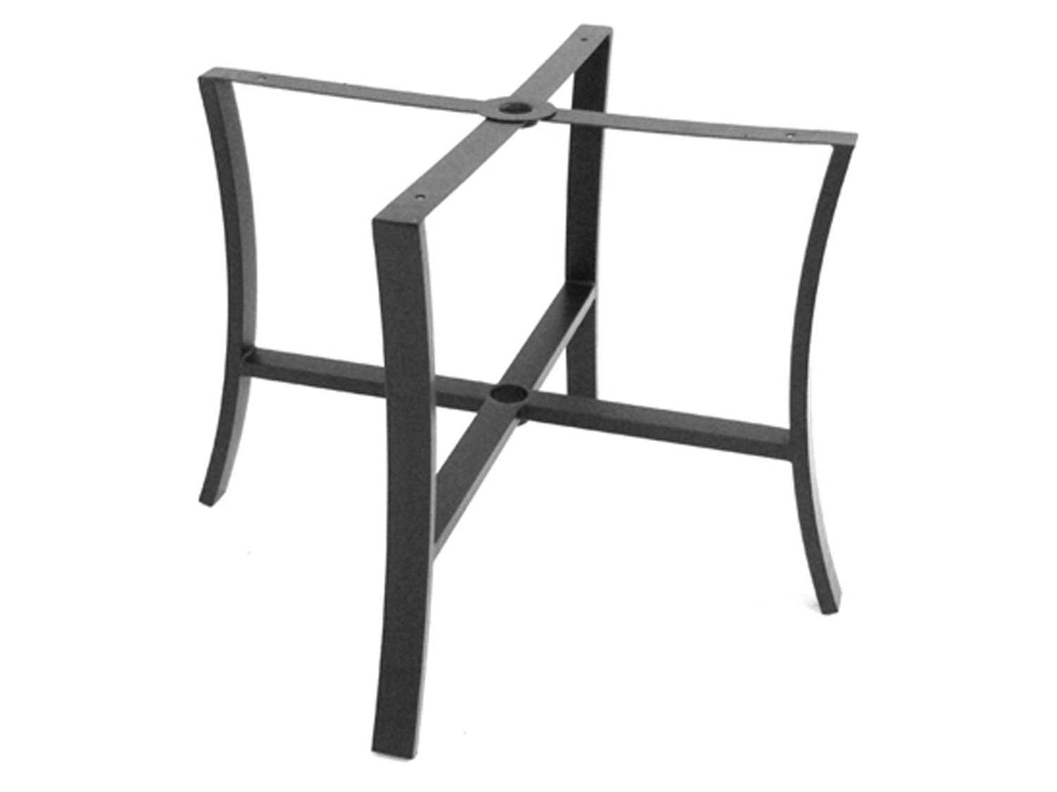 Meadowcraft Maddux Wrought Iron Dining Table Base 4448370 01