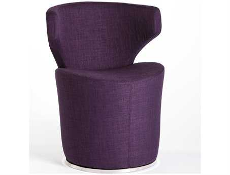 Moe's Home Collection Lasso Purple Accent Chair