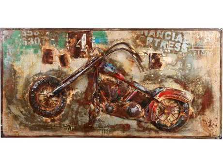 Moe's Home Collection Chopper Metal Wall Art