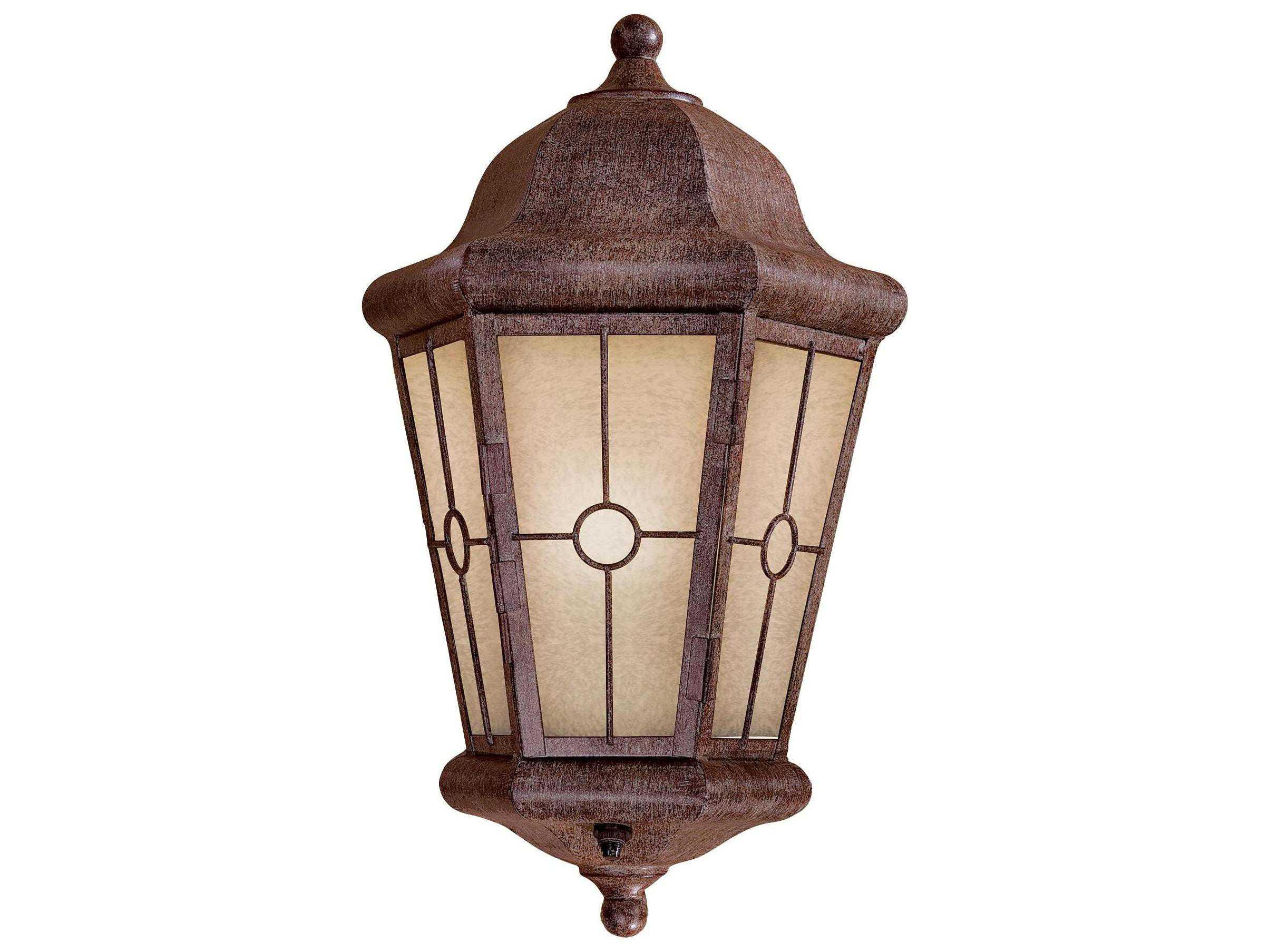 Minka Lavery Montellero Vintage Rust Outdoor Post Light 8210 A61 PL