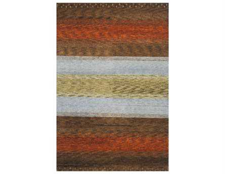 Momeni Desert Gabbeh Transitional Brown Hand Made Wool Abstract 2' x 3' Area Rug - DEGABDG-02MTI2030