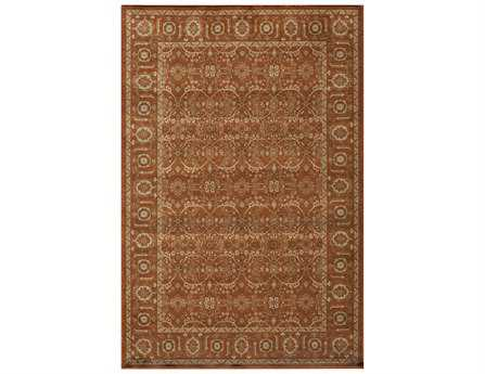 Momeni Encore Traditional Red Machine Made Synthetic Floral/Botanical 2' x 3' Area Rug - ENCOREC-03PAP2030