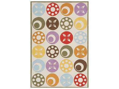 Momeni Lil Mo Whimsy Modern Gray Hand Made Synthetic Geometric 2' x 3' Area Rug - LMOJULMJ-5IVY2030