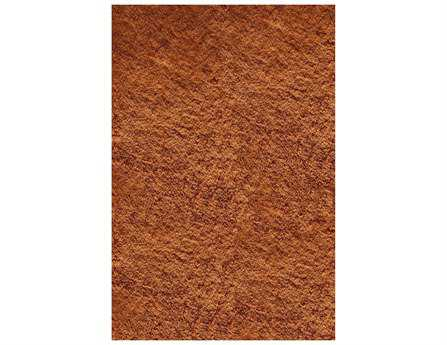 Momeni Luster Shag Modern Orange Hand Made Synthetic Solid 2' x 3' Area Rug - LSHAGLS-01TAG2030