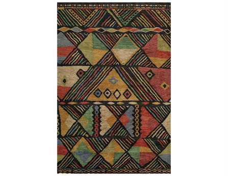 Momeni Madagascar Modern Black Hand Made Wool Abstract 2' x 3' Area Rug - MADAGMDG-6MTI2030