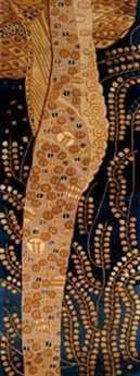 Momeni New Wave Transitional Blue Hand Made Wool Abstract 2'6'' x 8' Area Rug - NEWWANW-01BLU2680