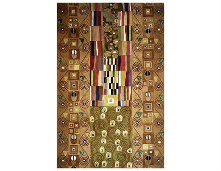 Momeni New Wave Transitional Beige Hand Made Wool Abstract 2' x 3' Area Rug - NEWWANW-02MTI2030