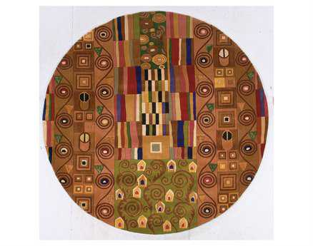 Momeni New Wave Transitional Beige Hand Made Wool Abstract Area Rug - NEWWANW-02MTI790R