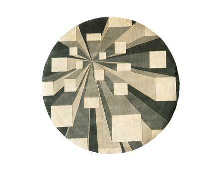 Momeni New Wave Transitional Gray Hand Made Wool Abstract Area Rug - NEWWANW128COT790R