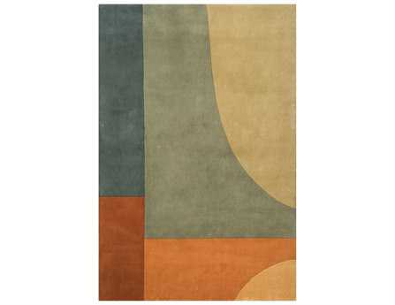 Momeni New Wave Transitional Gray Hand Made Wool Abstract 2' x 3' Area Rug - NEWWANW-15MTI2030