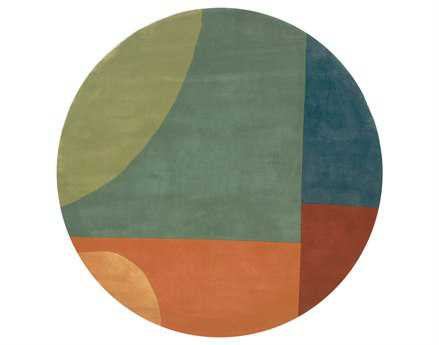 Momeni New Wave Transitional Gray Hand Made Wool Graphic Area Rug - NEWWANW-15MTI790R