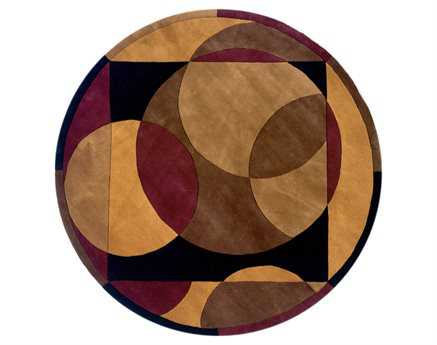 Momeni New Wave Transitional Brown Hand Made Wool Abstract Area Rug - NEWWANW-78BRN790R