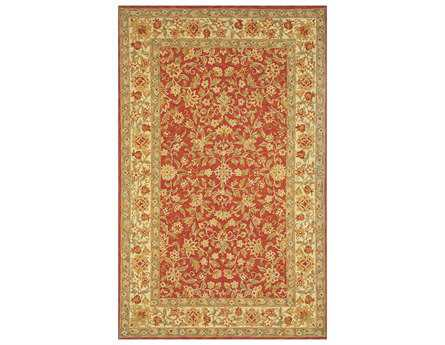 Momeni Old World Traditional Orange Hand Made Wool Floral/Botanical 2' x 3' Area Rug - OLDWOOW-04RSE2030
