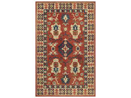 Momeni Tangier Traditional Red Hand Made Wool Southwestern 2' x 3' Area Rug - TANGITAN-3RED2030