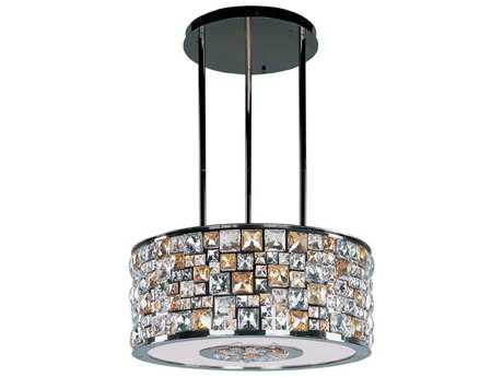 Maxim Lighting Fifth Avenue Luster Bronze Eight-Light 22'' Wide Pendant Light