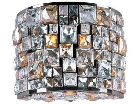 Maxim Lighting Fifth Avenue Luster Bronze Three-Light Wall Sconce
