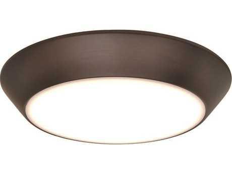 Maxim Lighting Convert Bronze 8'' Wide LED Flush Mount Light