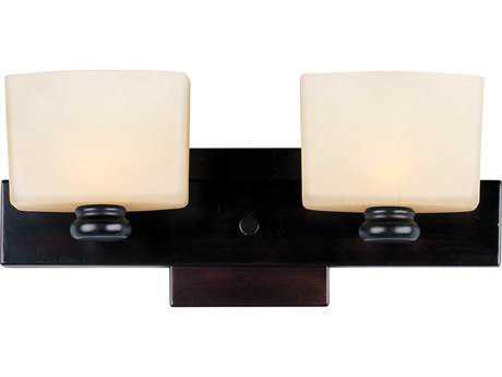 Maxim Lighting Essence Oil Rubbed Bronze Two-Light Vanity Light
