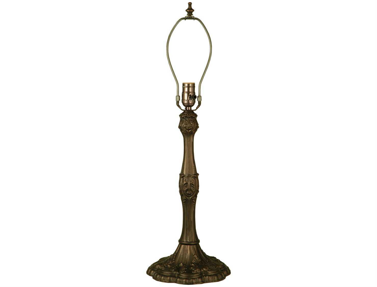 Meyda Tiffany Capri Bronze Table Lamp Base 10104