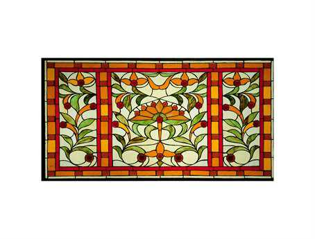 Meyda Tiffany Piccadilly Stained Glass Window