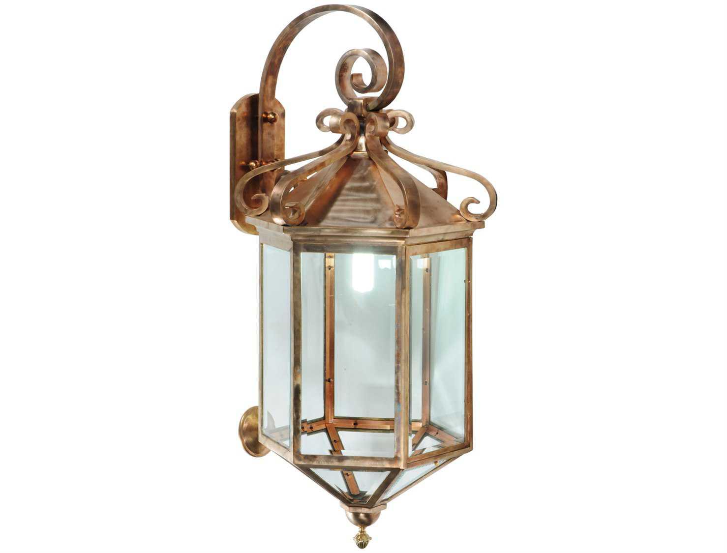 Meyda Tiffany Anza Lantern Outdoor Wall Light 122800
