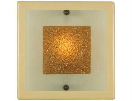 Meyda Tiffany Metro Fusion Bullion Glass Wall Sconce