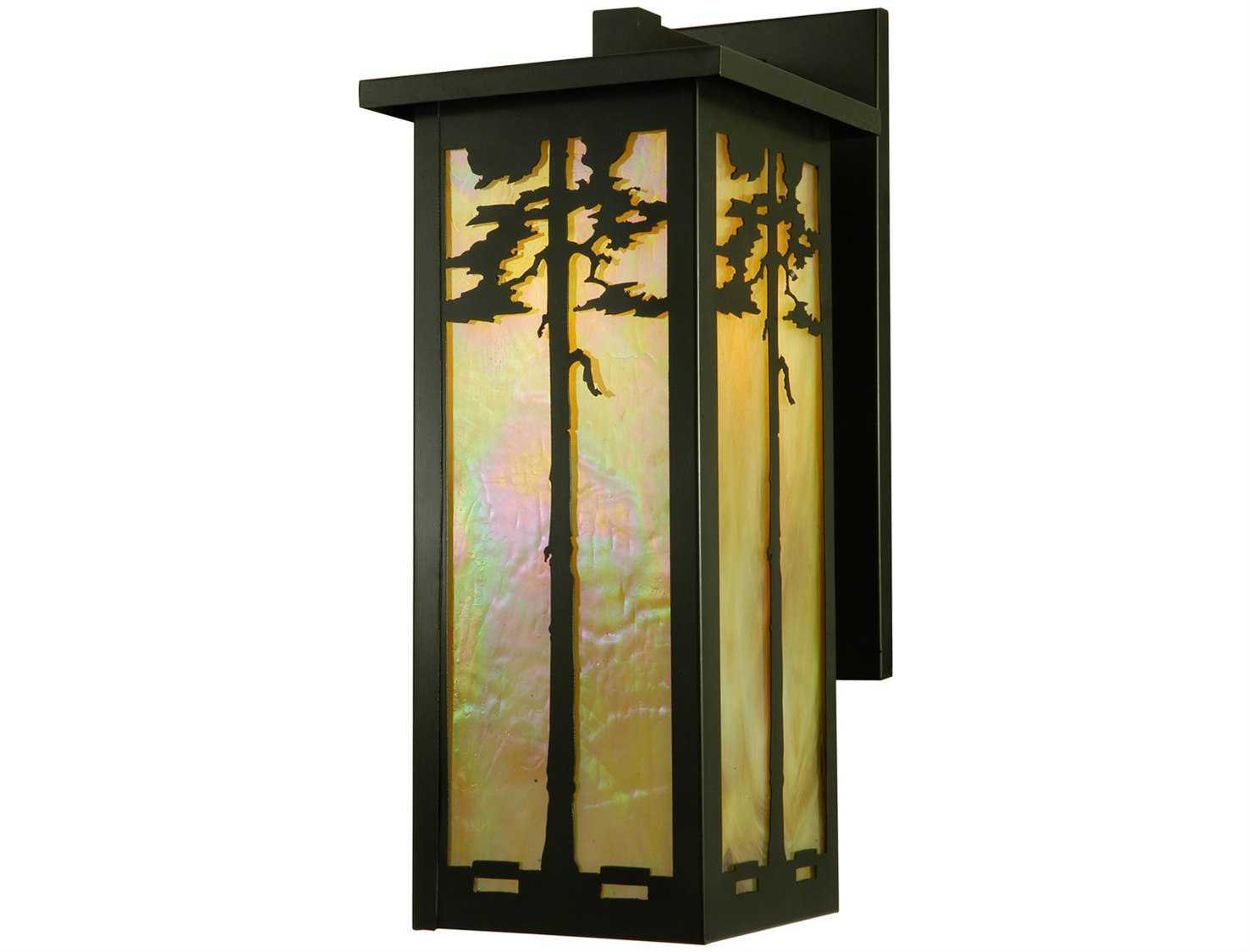 Meyda Tiffany Tamarack Outdoor Wall Light 137145