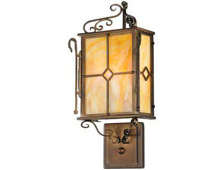 Meyda Tiffany Standford Two-Light Outdoor Wall Light