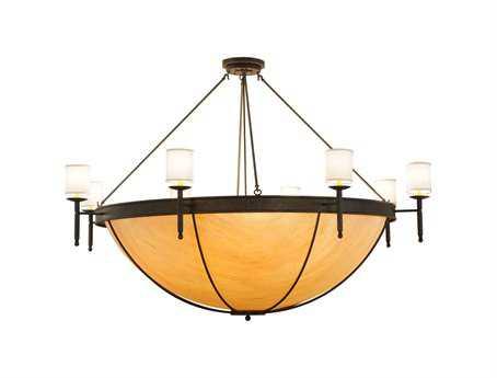 Meyda Tiffany Alysia 16-Light Semi-Flush Mount Light