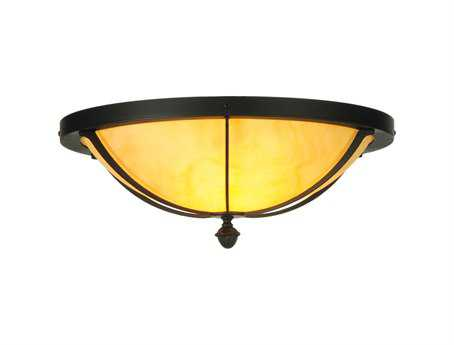 Meyda Tiffany Dominga Two-Light Flush Mount Light