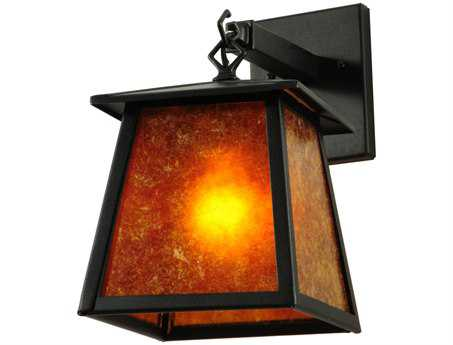 Meyda Tiffany Seneca Hanging Outdoor Wall Light