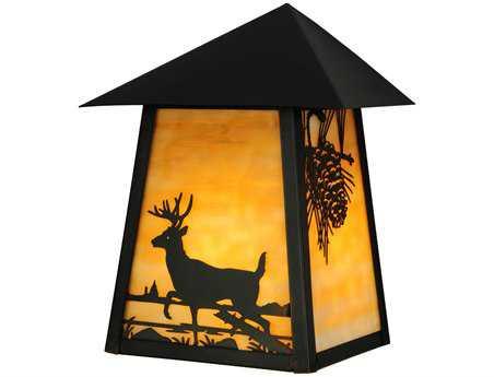 Meyda Tiffany Stillwater Custom Outdoor Wall Light