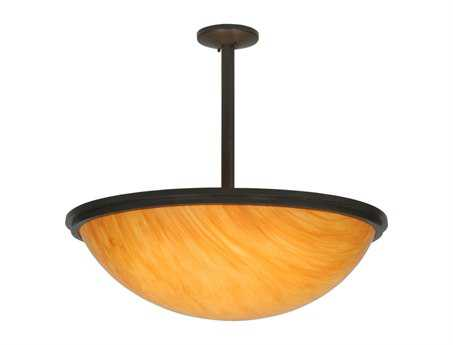 Meyda Tiffany Commerce Inverted Six-Light Pendant