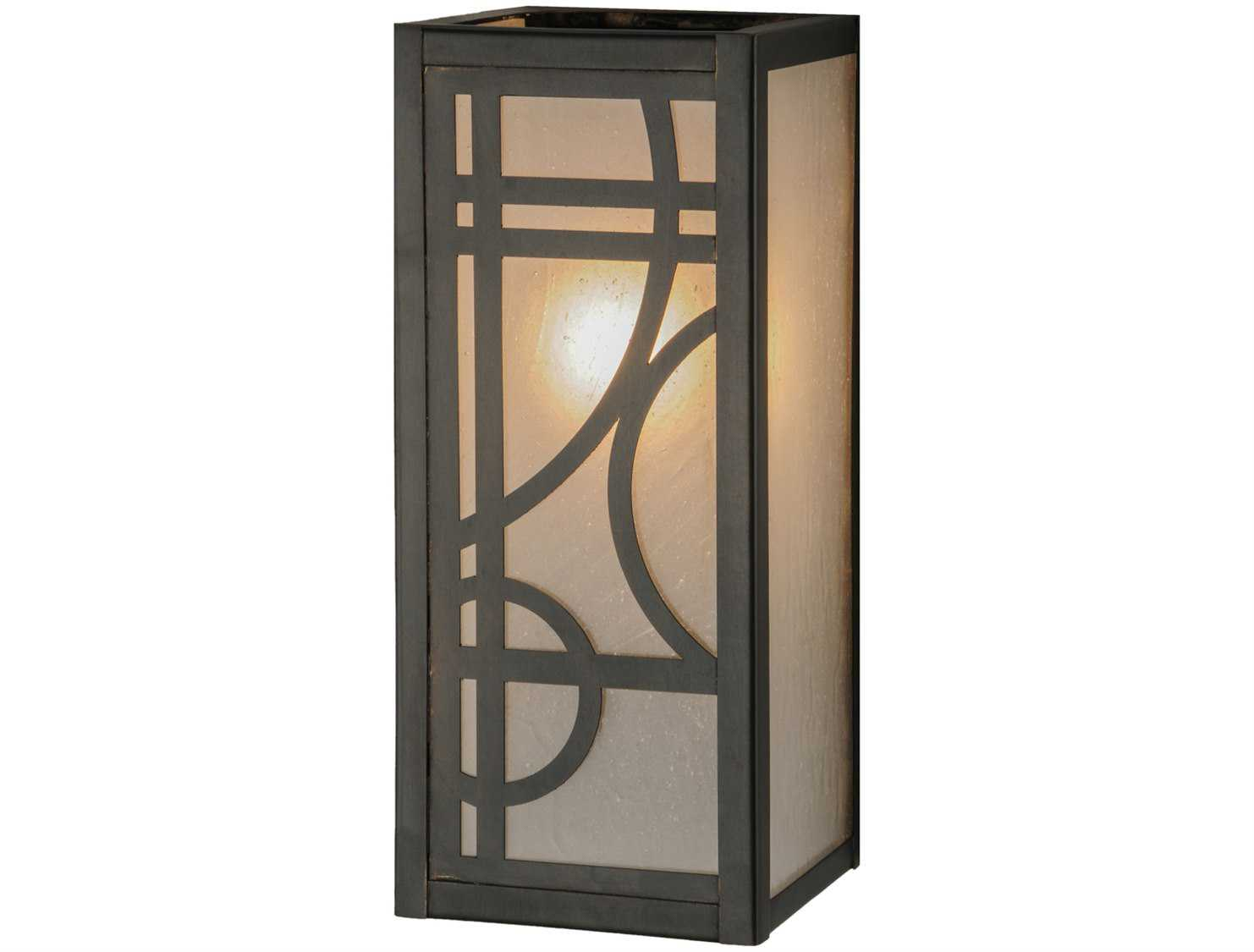 Meyda Tiffany Deco Outdoor Wall Light 144403