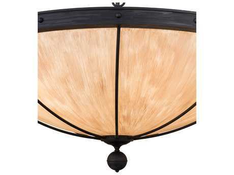 Meyda Lighting Nehring Costello Black 48'' Wide Pendant Light