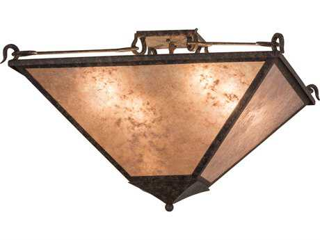 Meyda Lighting Mission Prime Coffee Bean Pendant Light