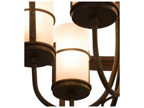 Meyda Lighting Cordoba Gilded Tobacco Six-Light 36'' Wide Pendant Light