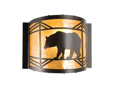 Meyda Tiffany Lone Bear Wall Sconce