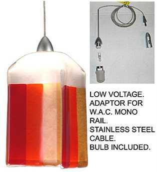 Meyda Tiffany Litesavers Draped Fused Glass Mini-Pendant