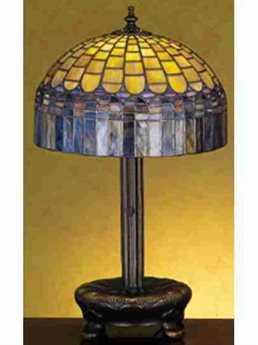 Meyda Tiffany Candice Multi-Color Accent Table Lamp